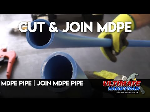 MDPE pipe | Join MDPE pipe