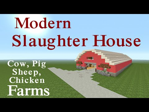 Minecraft Tutorial : Modern Redstone Slaughter House