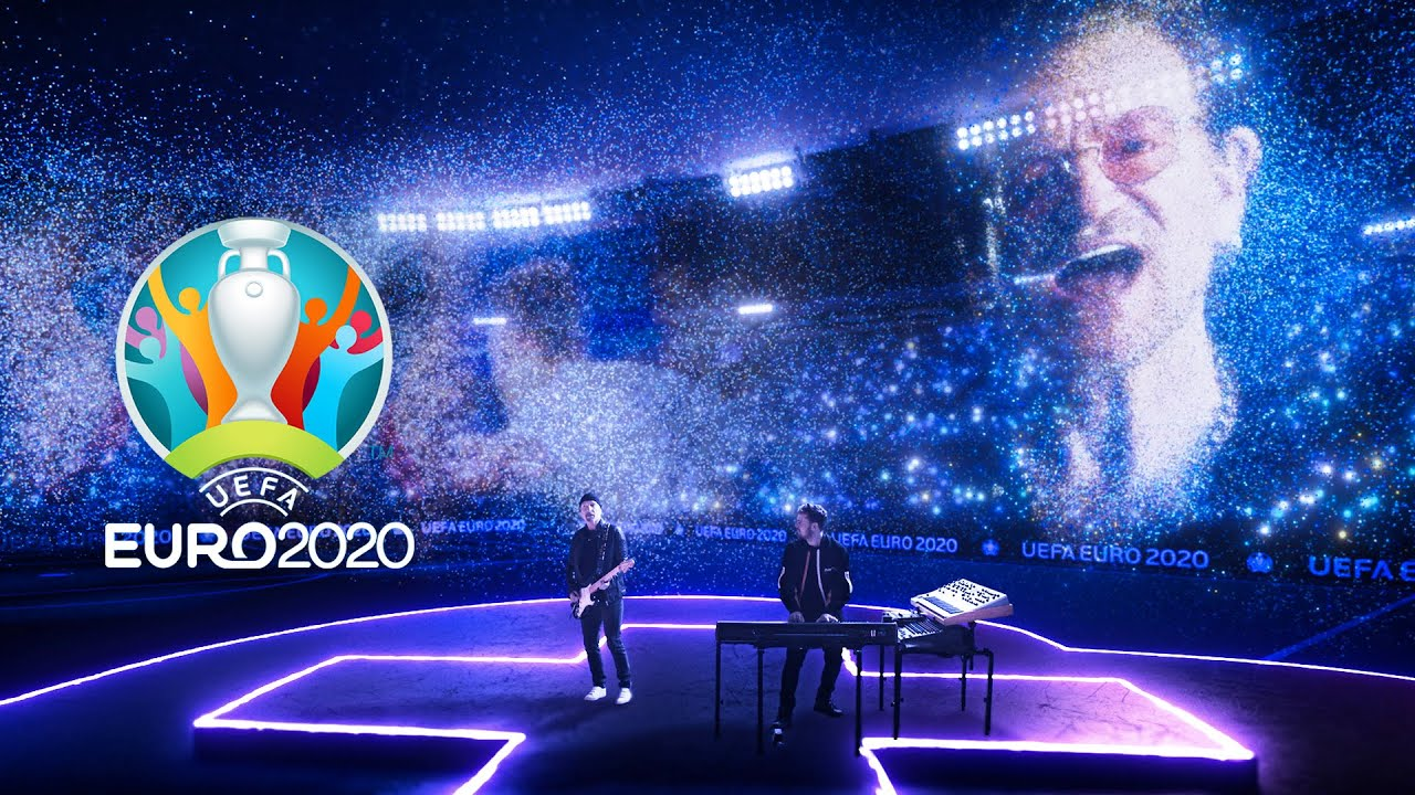 Martin Garrix, Bono \u0026 The Edge at EURO 2020 Opening Ceremony - We Are The People
