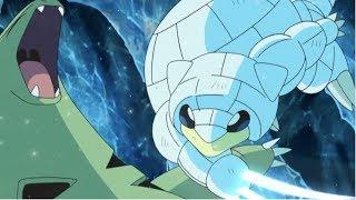 Alolan Sandshrew and Snowy vs Tyranitar 「 AMV 」Pokemon Sun & Moon Season 2 Episode 80