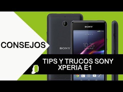 Sony Xperia E1 Tips trucos (aumenta velocidad, rendimiento y batería)