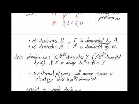UBC ISCI 344 - Dominance and Pareto optimality