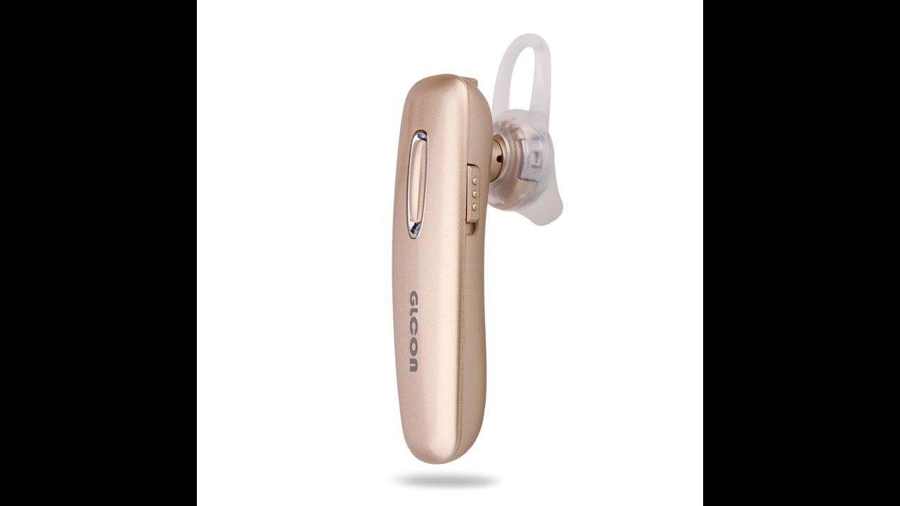 GLCON® GJ 02 Black Stereo Wireless Bluetooth 4 0 BT Headset Headphone Earphone Earpiece