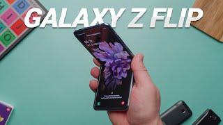 Samsung Galaxy Z Flip обзор и честный отзыв
