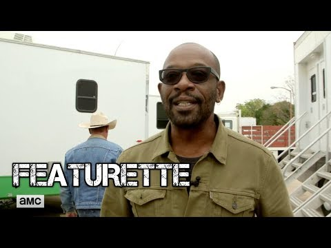 Fear the Walking Dead  Lennie James's First Day on Set