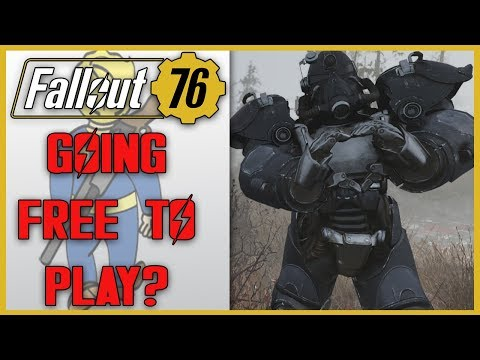Rumors Suggest FALLOUT 76 May Be Going FREE TO PLAY! thumbnail