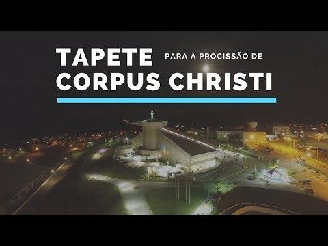 Confecção Do Tapete De Corpus Christi 2018