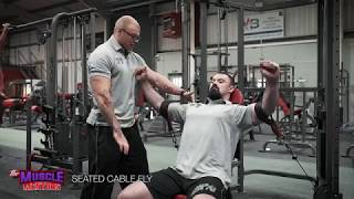 Exercise Tutorial - Cuffed Cable Clavicular Fly