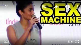 Alia Bhatt 's S X machine talk   Full Video HD