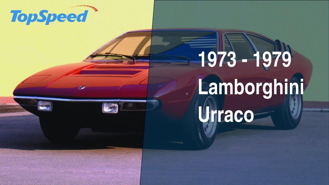 1973 1979 Lamborghini Urraco Youtube