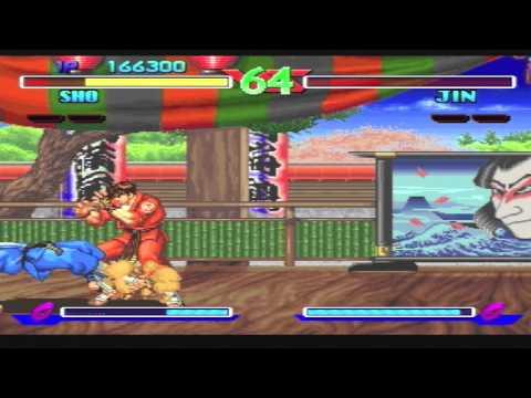 Breakers Gameplay Footage - Neo-Geo CD