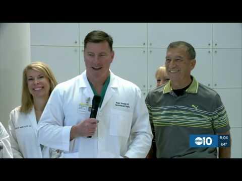 Tony Machado's Life Saved Due to New Heart Pump, KXTV-10, 5 p.m. May 16, 2017
