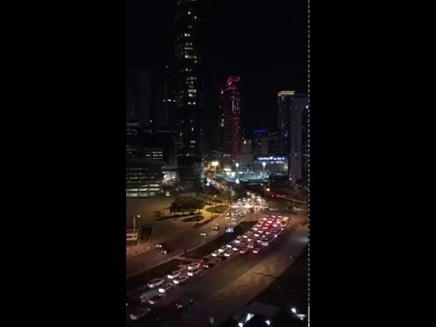 Doha WestBay time lapse