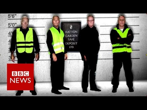 Who Are The Hatton Garden Masterminds BBC News