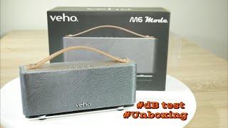 Veho M6 Bluetooth Speaker unboxing & sound dB test