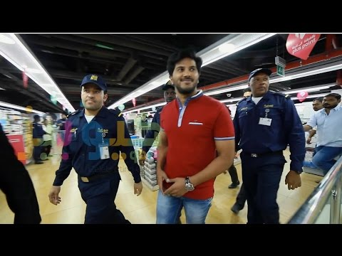 Dulquer Salmaan At Smile Hypermarket Doha Qatar  2016