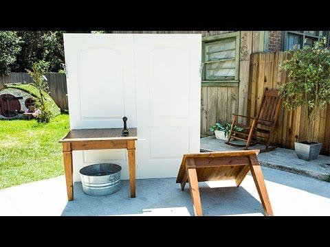 How To - Ken Wingard's Ultimate DIY Potting Bench - Hallmark Channel
