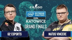 CS:GO - G2 Esports vs. Natus Vincere [Dust2] Map 2 - Grand Finals - IEM Katowice 2020
