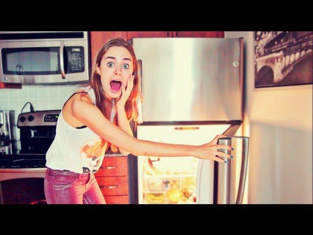 Соня, что ты ешь? ♥ что у меня в холодильнике.