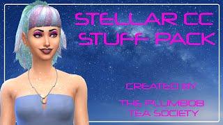SIMS 4 STELLAR CC STUFF PACK ~ CAS ITEMS