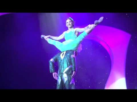 The Man From Mars Cirque Show Demo