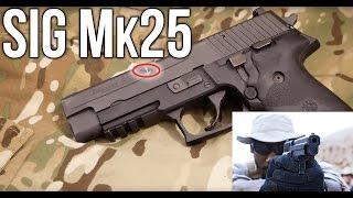 "Sig Sauer P226 Mk25 ""Seal"" Pistol: History, Shooting and Disassembly"