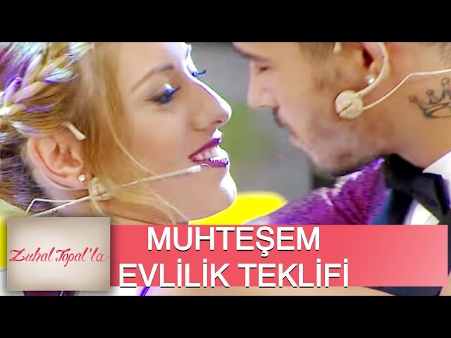 Zuhal Topalla 28. Bölüm (HD) | Melihten Nazl?ya Canl? Yay?nda Evlenme Teklifi!