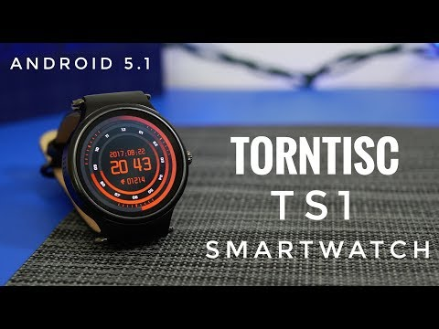 Torntisc TS1 Smartwatch REVIEW - Amoled Screen, Android 5.1