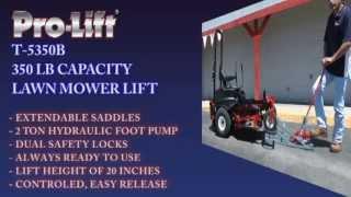 T5350B Pro-Lift Lawn Mower Lift