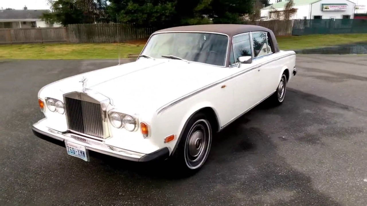 1980 Rolls Royce Silver Wraith II - YouTube