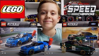 LEGO Speed Champions - Recenzja Camaro / Mustang 75891/ 75884