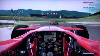 Gran Turismo 5 Prologue - Fuji Speedway GT - Ferrari F2007 - PS3 Gameplay