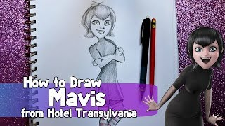 How to Draw MAVIS from Sony Animation's HOTEL TRANSYLVANIA  - @dramaticparrot