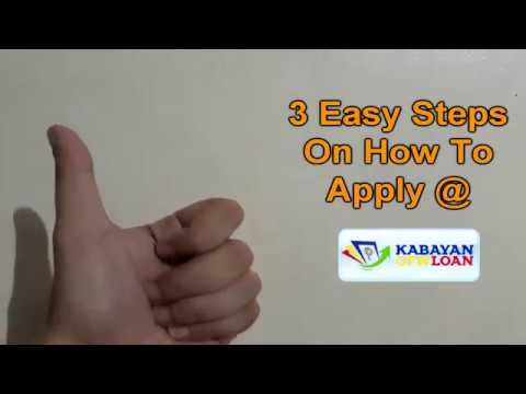 Kabayan OFW Loan How To Apply