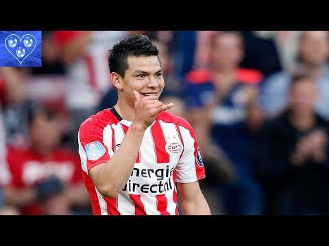 Hirving Lozano PSV & Mexico - Goals & Assists & Skills 2017-2018