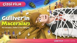 Adisebaba Çizgi Film Masallar - Bölüm 48: Güliver'in Maceraları