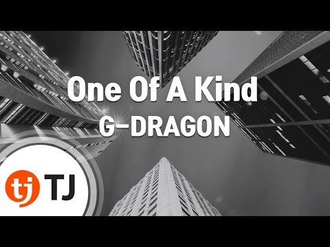 [TJ노래방] One Of A Kind - G-DRAGON / TJ Karaoke