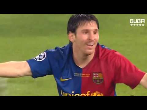 Barcelona vs Manchester United 2 0   UCL Final 2009   Full Highlights   English Commentary HD