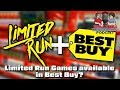 Limited Run Games Available in Best Buy?! #CUPodcast