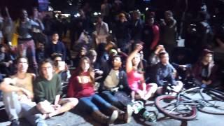 los angeles shut it down freeway darrenwilson grandjury protest