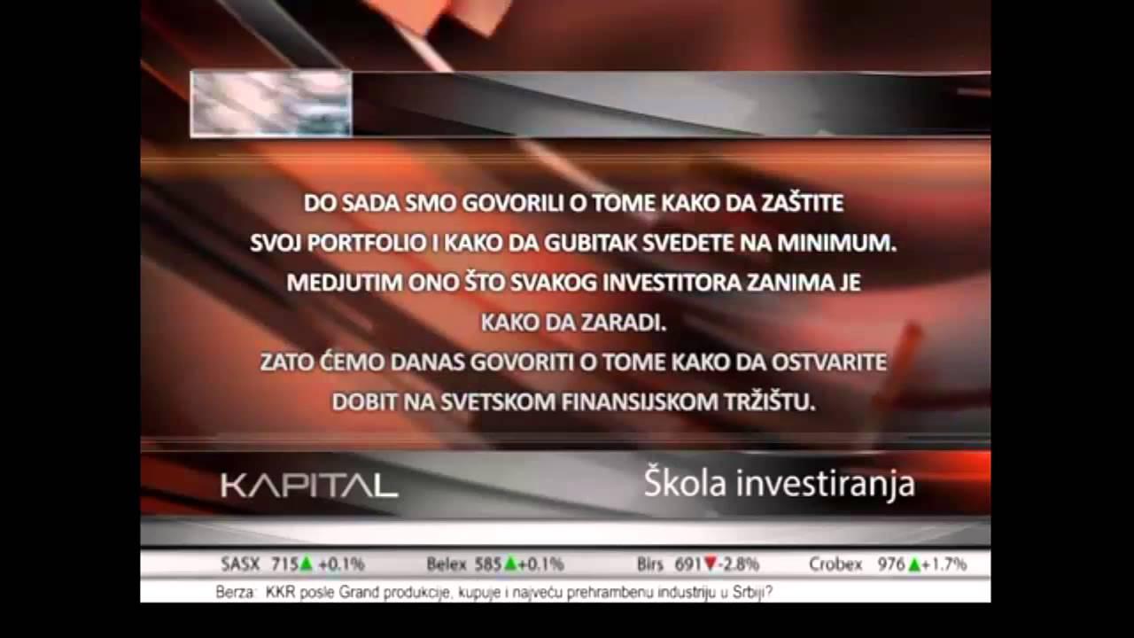 Forex trgovina srbija