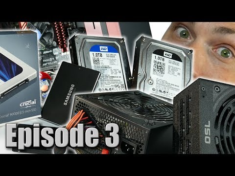 Beginners Guide: How to Build a Gaming PC Ep. 3 - Power Supply & Storage Drive Buyers Guide