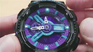 Часы Casio G-Shock GA-110HC как у Медведева обзор