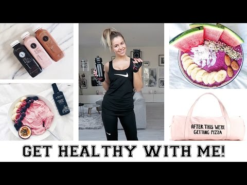 GET HEALTHY WITH ME!