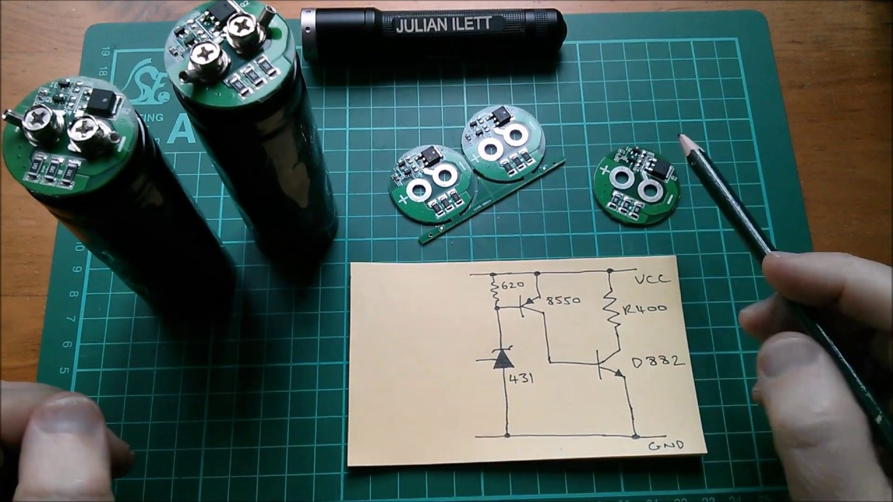 700F Super Capacitor Protection PCB - Reverse Engineer Update