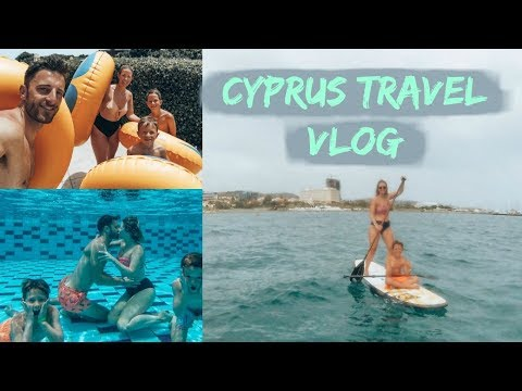I FORGOT MY BRA!!! CYPRUS TRAVEL VLOG | FAMILY HOLIDAY | KERRY WHELPDALE
