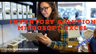 Inventory solution Microsoft Excel