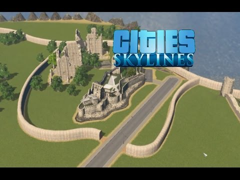 Cities: Skylines - County Building - Part 6: Castles and the beginnings of the Old Town