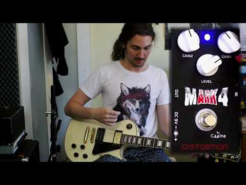 Caline Music Mark 4 Distortion | Pedal Demo and Review