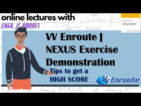 VV Enroute | NEXUS Exercise Demonstration | Air Traffic Control Sim | Tips to get a HIGH SCORE! |